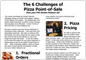 6 challenges of pizza point of sale