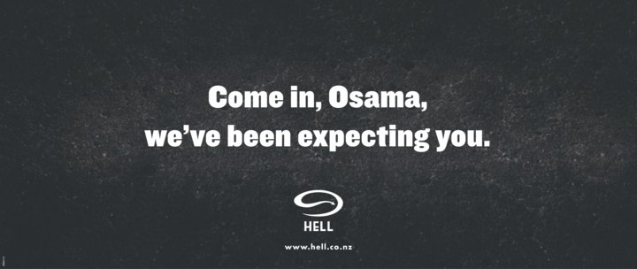 hell osama