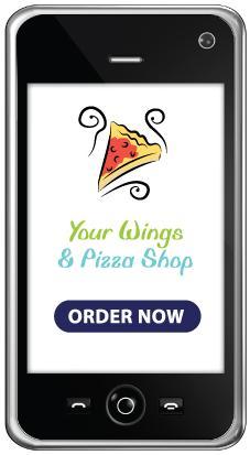 Smart phone ordering app