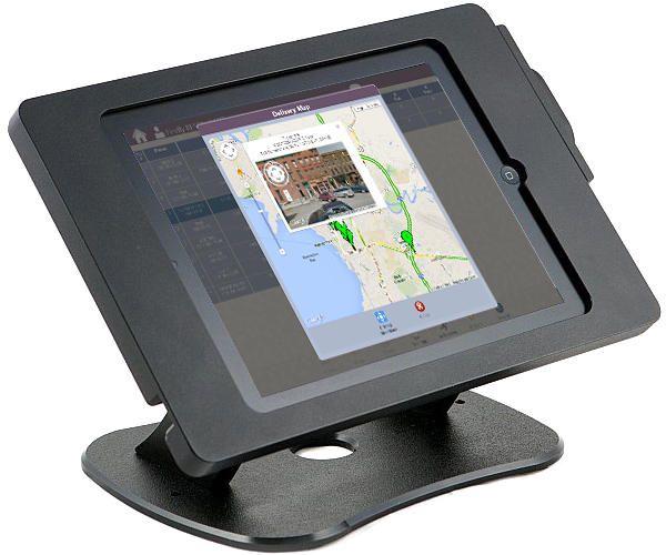 delivery screen on a pos system screen