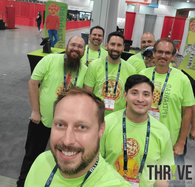 Thrive POS at International Pizza Expo 2021
