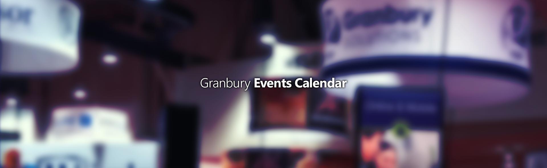 GS Events Calendar